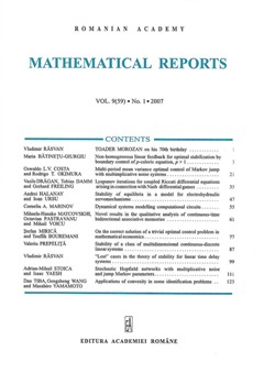 how to write a maths report sample